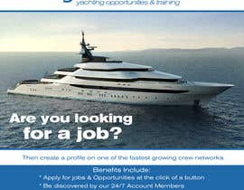 #4 untuk Design a Flyer for Yotspot (a superyacht recruitment company) oleh bojandjordjevic