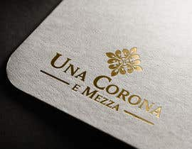 #52 for Disegnare un Logo for Una corona e mezza (home restaurant) af eddesignswork