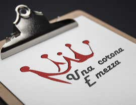 #15 for Disegnare un Logo for Una corona e mezza (home restaurant) af AndriiOnof