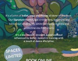 #20 for A4 POSTER FOR BARRE CLASS by alyahuda