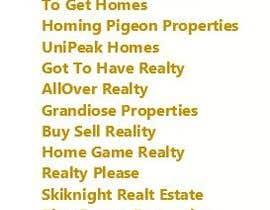 sharif1009 tarafından Name for real estate development company. için no 122