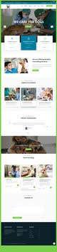 Kilpailutyön #                                                7                                              pienoiskuva kilpailussa                                                 Create a website mockup for a business that offers pet health certificates
