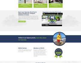 Nro 6 kilpailuun Create a website mockup for a business that offers pet health certificates käyttäjältä faridahmed97x