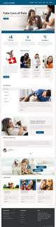 Kilpailutyön #                                                10                                              pienoiskuva kilpailussa                                                 Create a website mockup for a business that offers pet health certificates