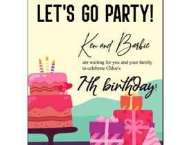 #476 for Child brithday party invitation by SAIFULLA1991