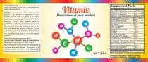 Graphic Design Entri Peraduan #52 for Creating Vitamin Bottle Labels - Will pick 10 Winners