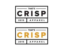 nº 99 pour Design a Logo for That's Crisp par bautistadhalaine