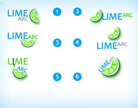 #39 para Logo Design for Lime Arc de Rflip