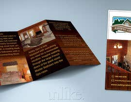 #7 para Design a Brochure for Ashby Cabins por cibin