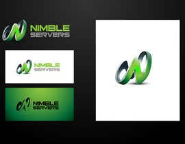 #172 pentru Logo Design for Nimble Servers de către maidenbrands