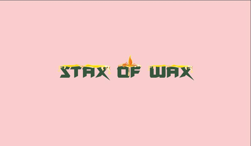 Konkurrenceindlæg #                                        30                                      for                                         Design a Logo for Stax of Wax candle making company