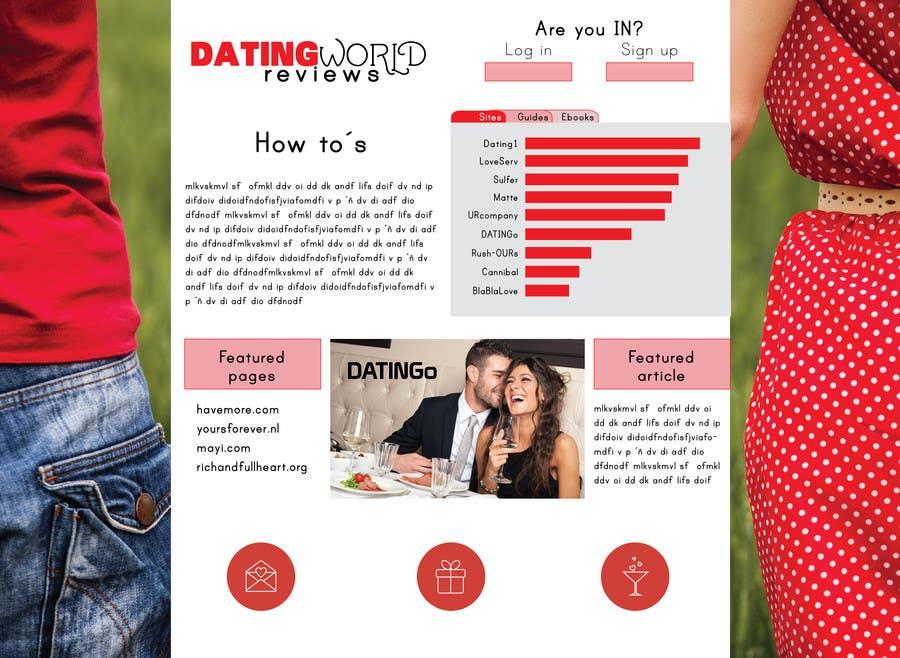 Konkurrenceindlæg #                                        8                                      for                                         Design a Dating Review Website