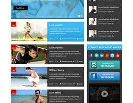 #32 for Design a Website Mockup for Fitness Health Site af xsasdesign