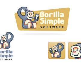 #10 para Graphic Design for Gorilla Simple Software, LLC por taks0not