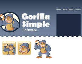 taks0not님에 의한 Graphic Design for Gorilla Simple Software, LLC을(를) 위한 #58