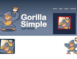 #59 untuk Graphic Design for Gorilla Simple Software, LLC oleh taks0not