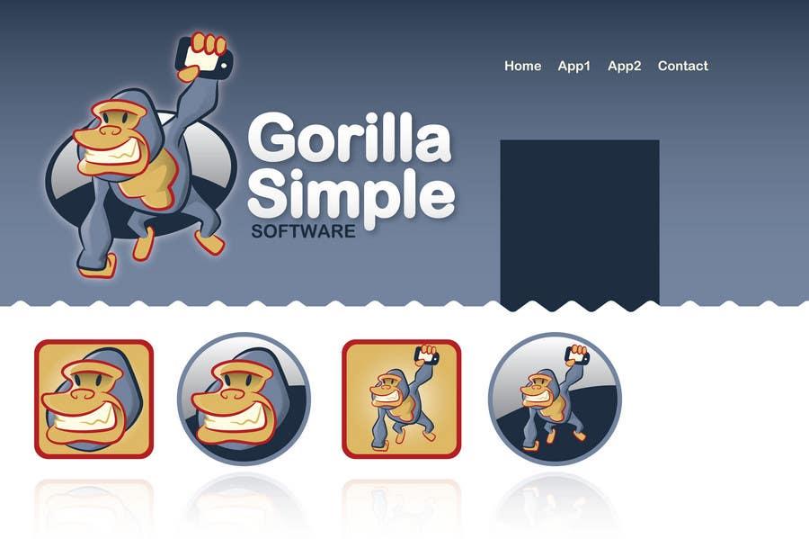 Inscrição nº                                         25                                      do Concurso para                                         Graphic Design for Gorilla Simple Software, LLC