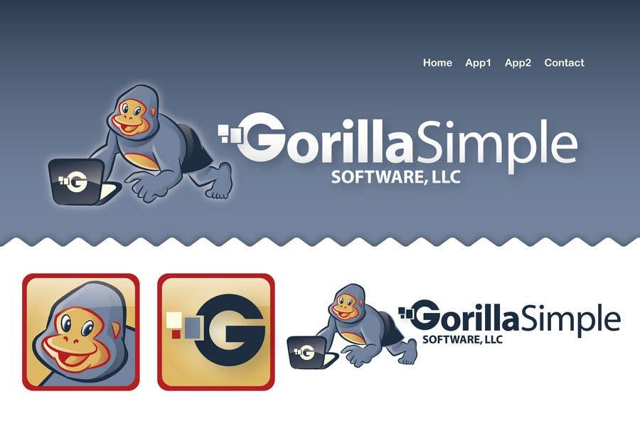 Inscrição nº                                         44                                      do Concurso para                                         Graphic Design for Gorilla Simple Software, LLC