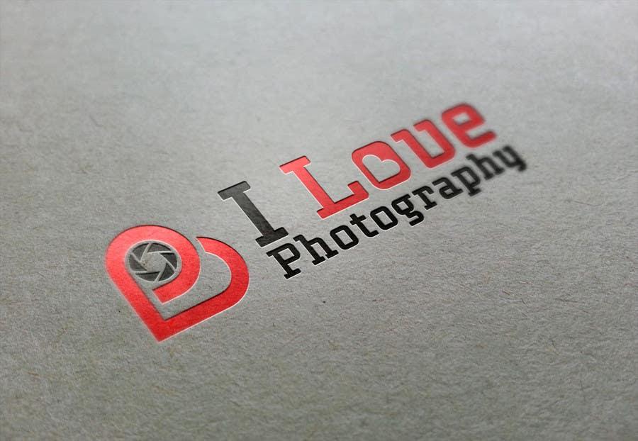 Penyertaan Peraduan #80 untuk Design a Logo for I ♥ Photography