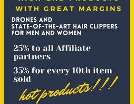 Nro 15 kilpailuun Make up to 35% profit once you reach 10th items sold. Payout for each item sold is 25% käyttäjältä ddioquinojoy