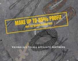 Nro 11 kilpailuun Make up to 35% profit once you reach 10th items sold. Payout for each item sold is 25% käyttäjältä Nissa26