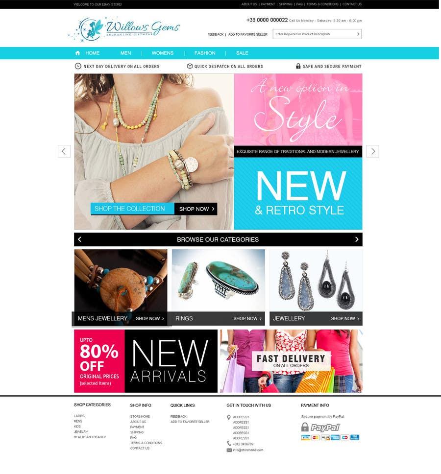 Konkurrenceindlæg #                                        3                                      for                                         Design a Ebay Store & Listing Template