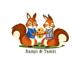#28 for Design two squirrels cartoon characters for cookies brand by Divya2agni