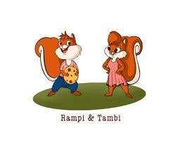 #31 for Design two squirrels cartoon characters for cookies brand by Divya2agni