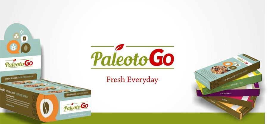 Konkurrenceindlæg #                                        8                                      for                                         Design a Logo for Paleo To Go