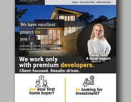 #262 cho Design flyer for real estate agent bởi IMRAN172142