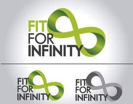 Nro 373 kilpailuun Design a Logo for...Fit For Infinite käyttäjältä felipe0321