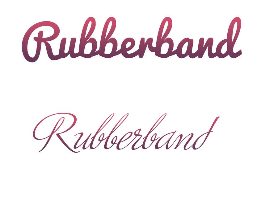 Contest Entry #                                        28                                      for                                         Design a Logo for Rubberband