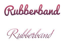 #28 for Design a Logo for Rubberband by mugshots