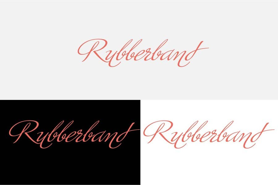 Contest Entry #                                        18                                      for                                         Design a Logo for Rubberband