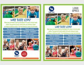 #12 para Baby Gym Program Marketing Material por elgu