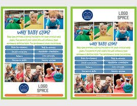#25 para Baby Gym Program Marketing Material por elgu