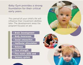 #14 cho Baby Gym Program Marketing Material bởi shankhaigai