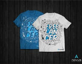 Novusmultimedia tarafından Create a t-shirt design that best embodies Freelancer's hip and fun nature için no 175