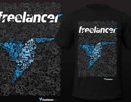 pipo2draw tarafından Create a t-shirt design that best embodies Freelancer's hip and fun nature için no 249