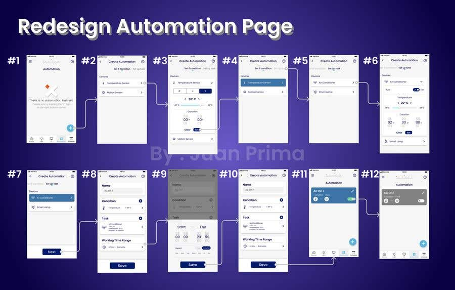 Konkurrenceindlæg #                                        10                                      for                                         Redesign our Automations page (Smart Home app) and make it easier to use