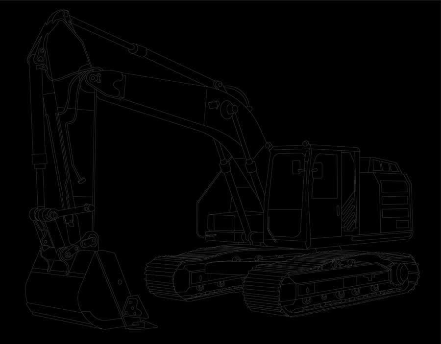 Konkurrenceindlæg #                                        25                                      for                                         3D illustration of a construction machine