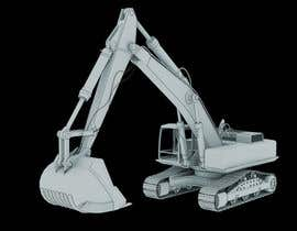 #5 for 3D illustration of a construction machine af rmissin