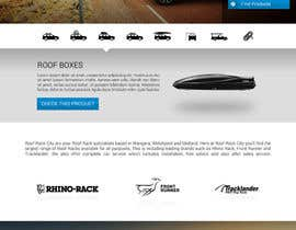 #21 para Design a Website Mockup for Roof Rack Co por KsWebPro