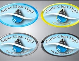 #364 para Logo Design for Aqua-Clear H2O de MHCreatives123