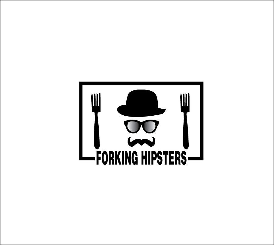 Proposition n°                                        10                                      du concours                                         Design a Logo for FOOD TV SHOW with hipster theme.