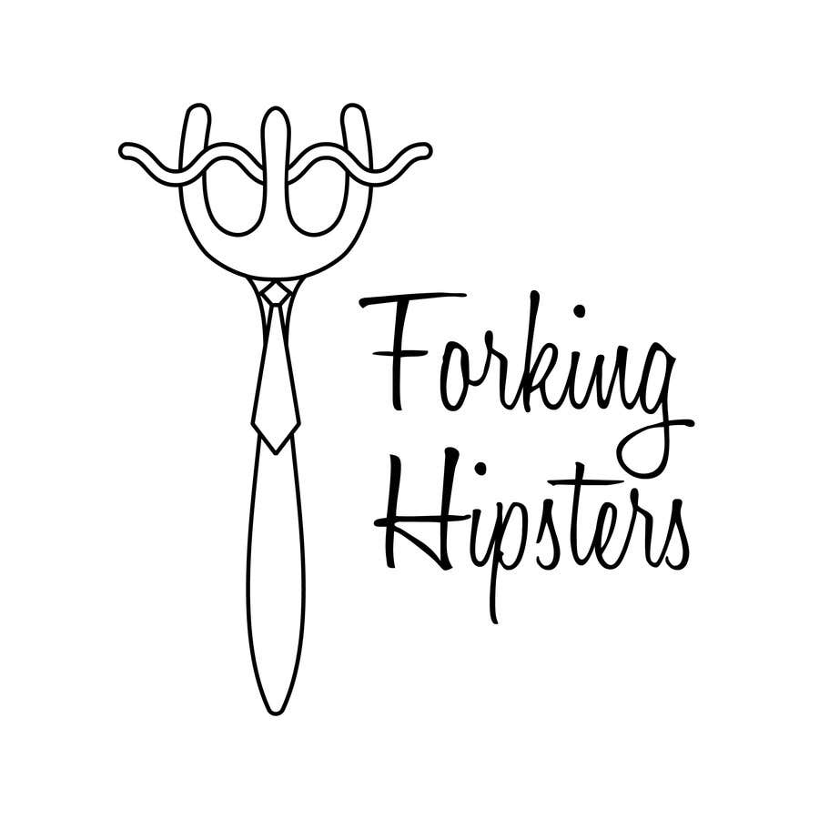 Proposition n°                                        13                                      du concours                                         Design a Logo for FOOD TV SHOW with hipster theme.