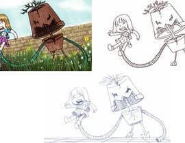 Nro 48 kilpailuun Drawing Contest - Draw a Gardening Golem! käyttäjältä aymanissa