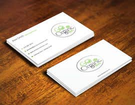 #48 for Design some Business Cards for Go Organic Store by gohardecent