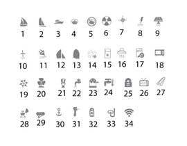 nº 4 pour Pictograms for a Boat Booking Website par iwebgal