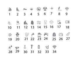 nº 5 pour Pictograms for a Boat Booking Website par iwebgal